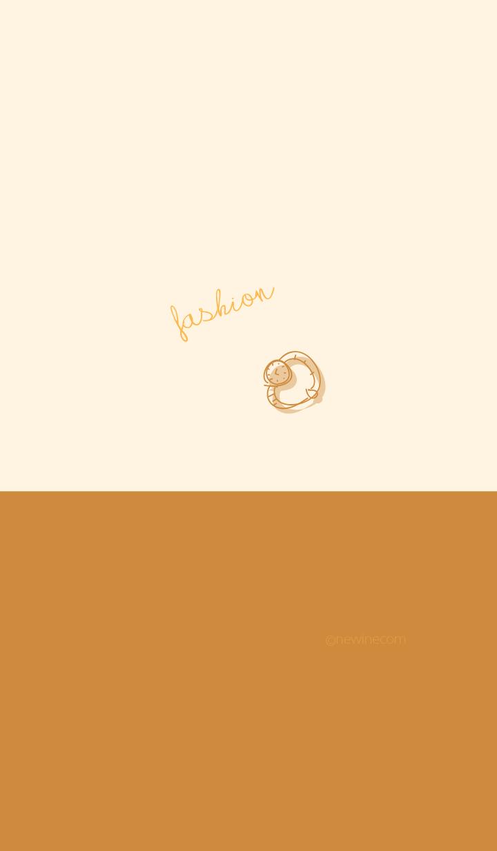 fashion camel brown