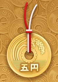 5yen coin Theme