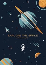 Explore The Space - PREMIUM Dark Blue