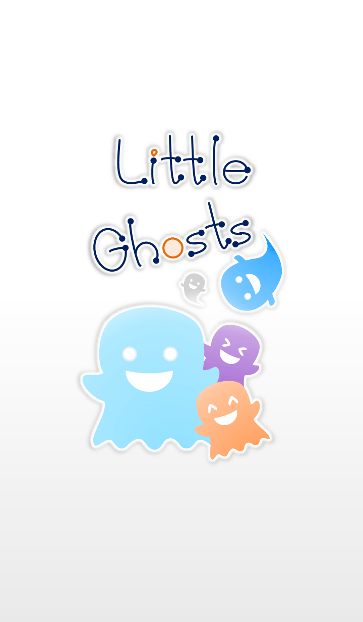 Little Ghosts! (White Ver.3)