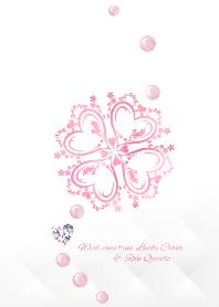 Lucky Clover & Rose Quartz