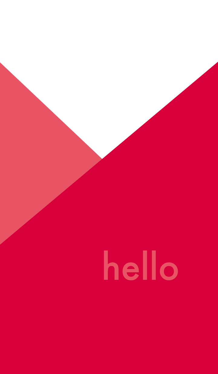 hello - red -