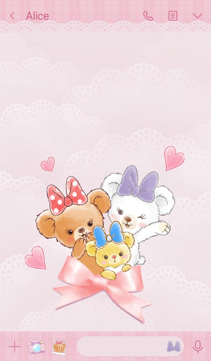 UniBEARsity (Girly Bears)