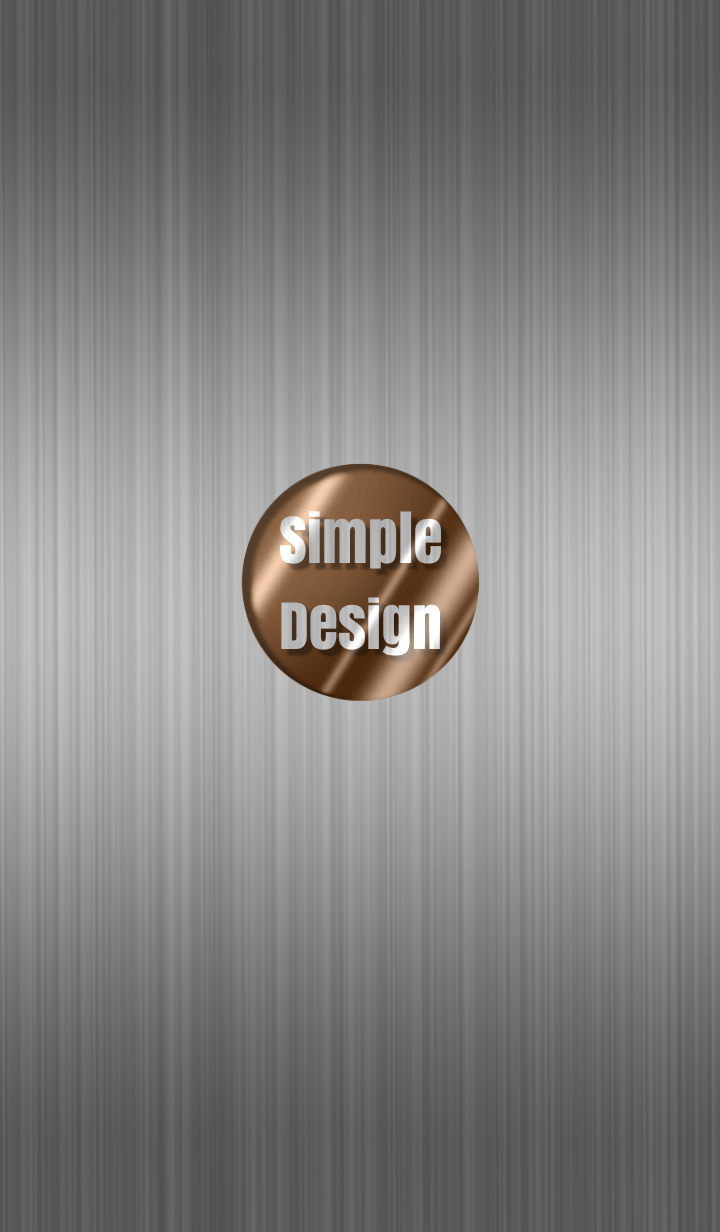 Steel Simple Design Brown ver.