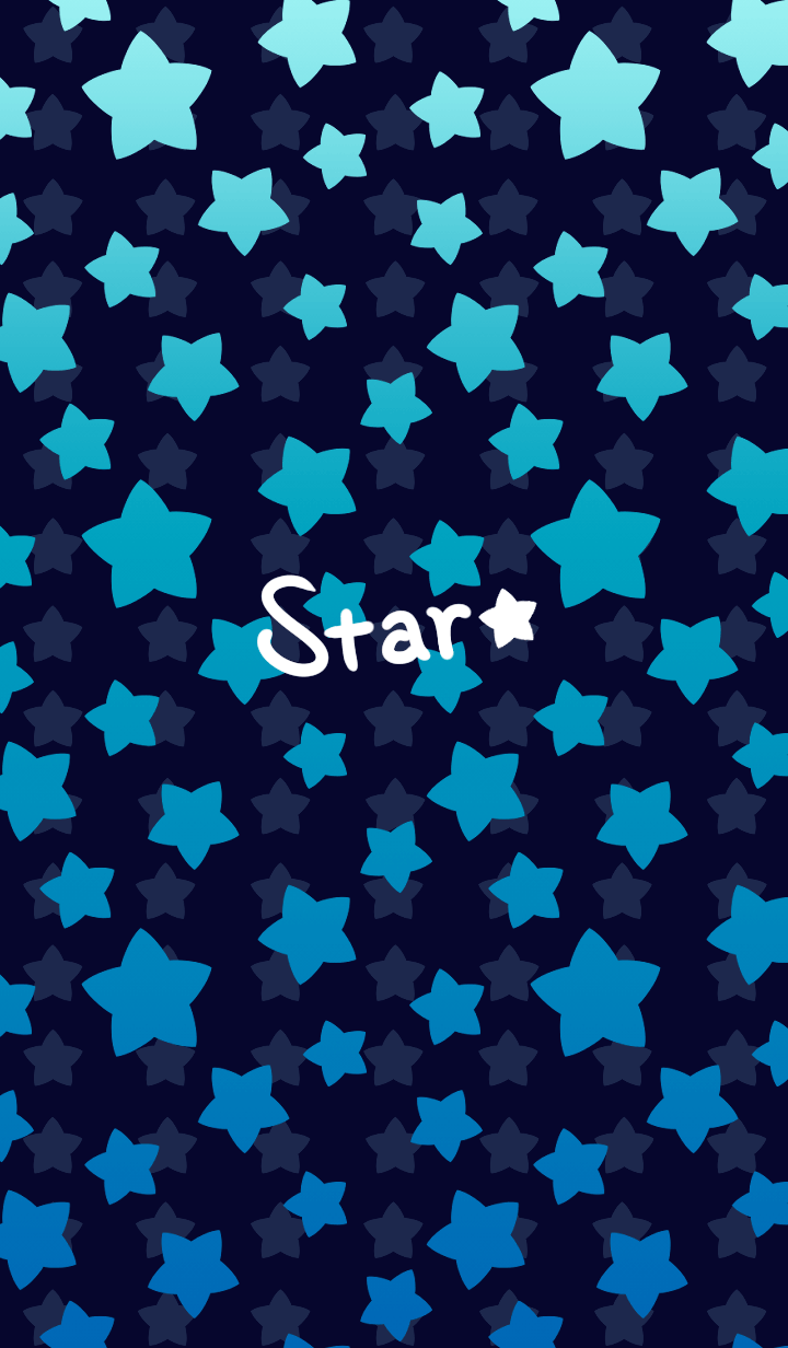 Starry sky -Blue-