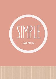 SIMPLE -Salmon Pink-