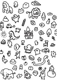 RAKUGAKI (doodling)