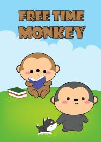 Free Time Love Monkey