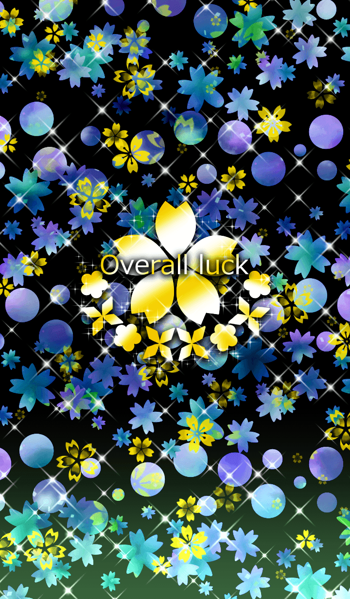 Golden cherry blossom -Overall luck-