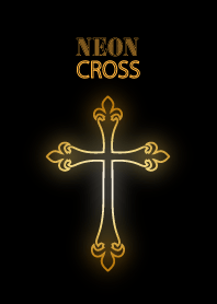 Neon cross gold version