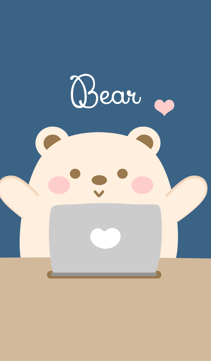 Bear work from home