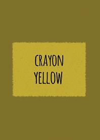 Crayon Yellow 3 / Square