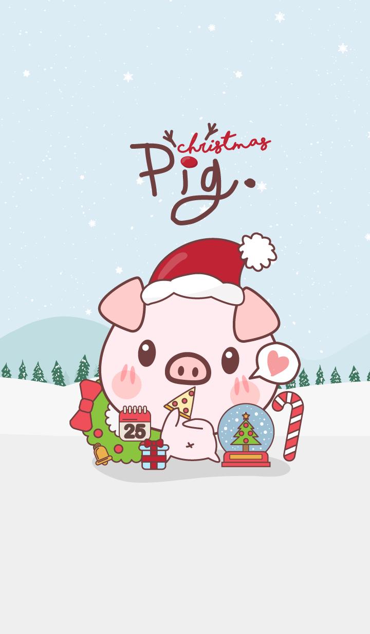 Snow Christmas (Pig ver.)