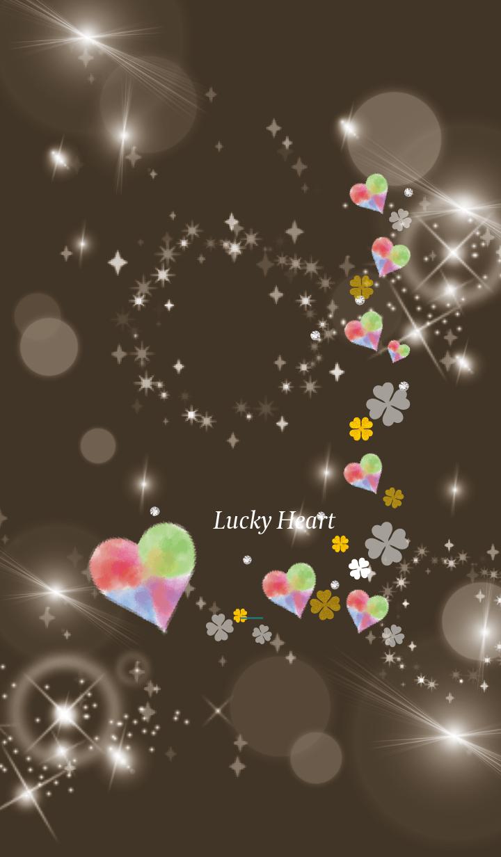 Brown Green : Bright lucky heart