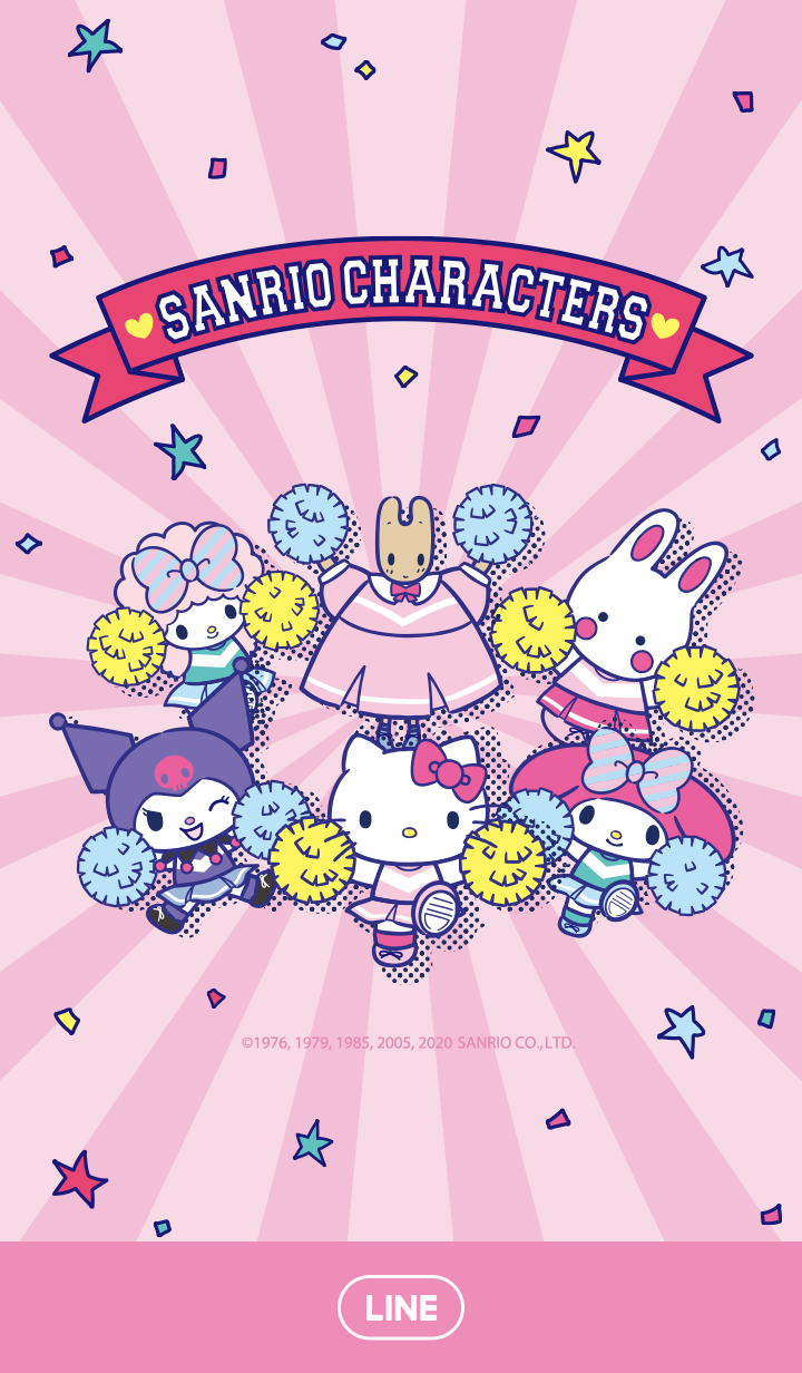 SANRIO CHARACTERS (Cheerleaders)