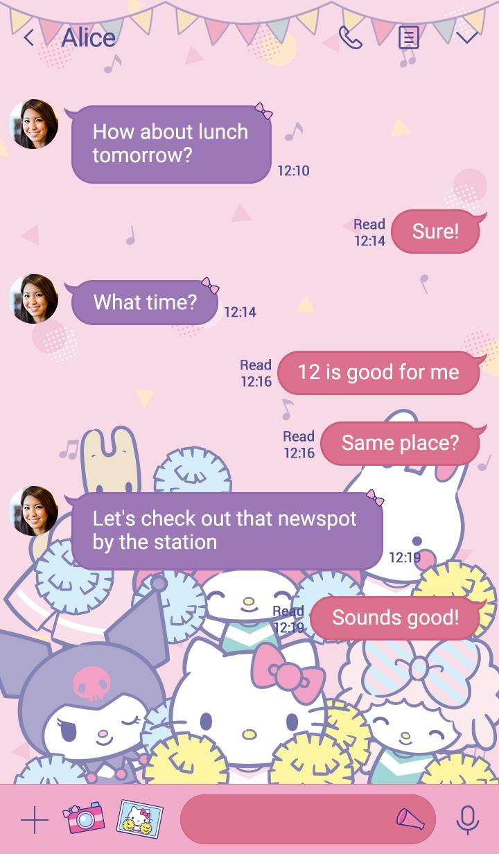 Sanrio Characters(啦啦隊)