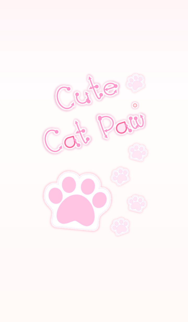 Cute Cat Paw 2 (Pink Ver.3)