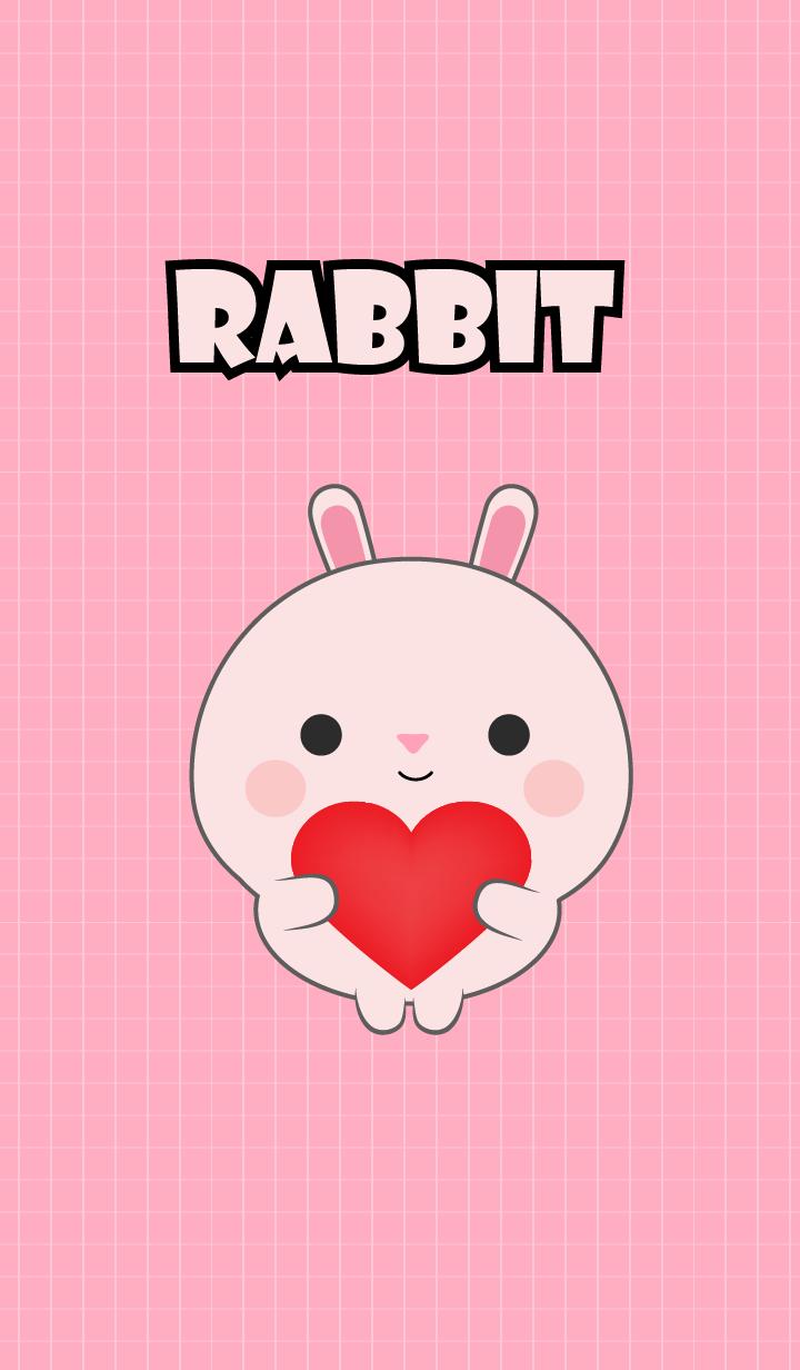 Mini Cute Pink Rabbit Theme (jp)