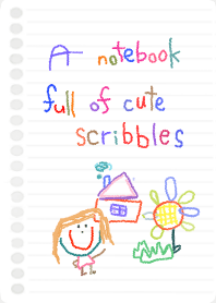 A notebook full of cute scribbles 4