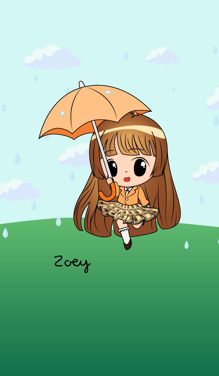 Zoey - Little Rainy Girl
