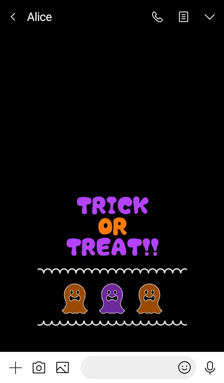 Cute! Pop! Halloween Ghost !! -12-
