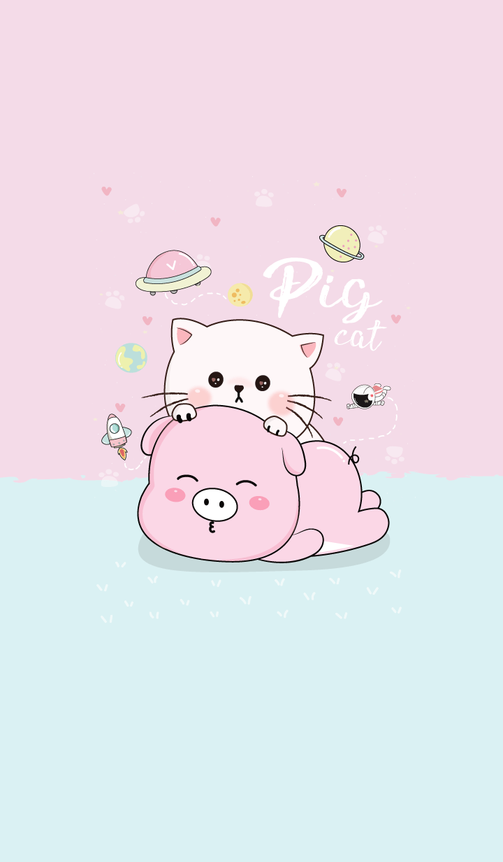 Hi! Pig and Cat