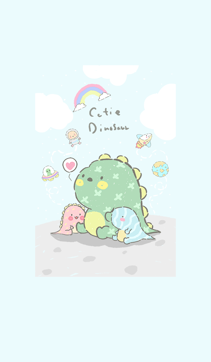 dinofamily in space