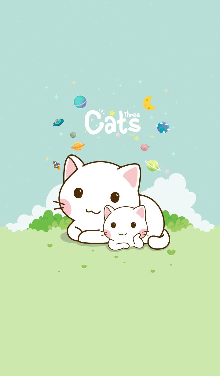 Three Cats Star Mint