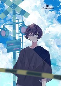 Menhera-kun. summer sky ver.