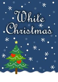 White Christmas Theme Line Theme Line Store
