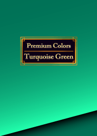 Premium Colors Turquoise Green