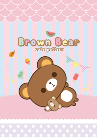 Brown Bear Sweet Violet