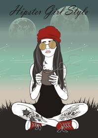 Hipster Girl Style V
