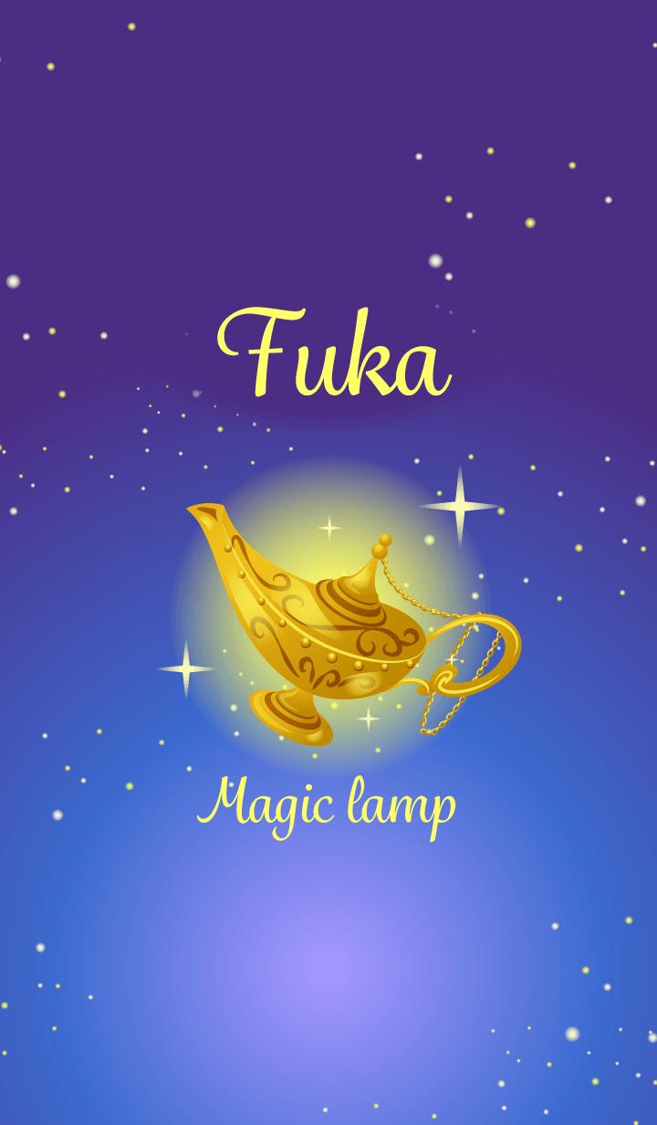 Fuka-Attract luck-Magiclamp-name