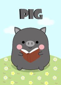 I'm Pretty Black Pig Theme