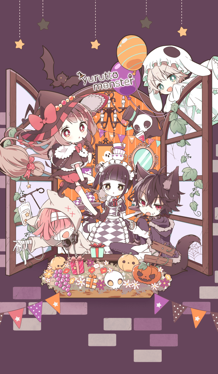 YURUTTO monsters Halloween2019