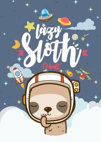 Sloth Lazy Galaxy cobalt