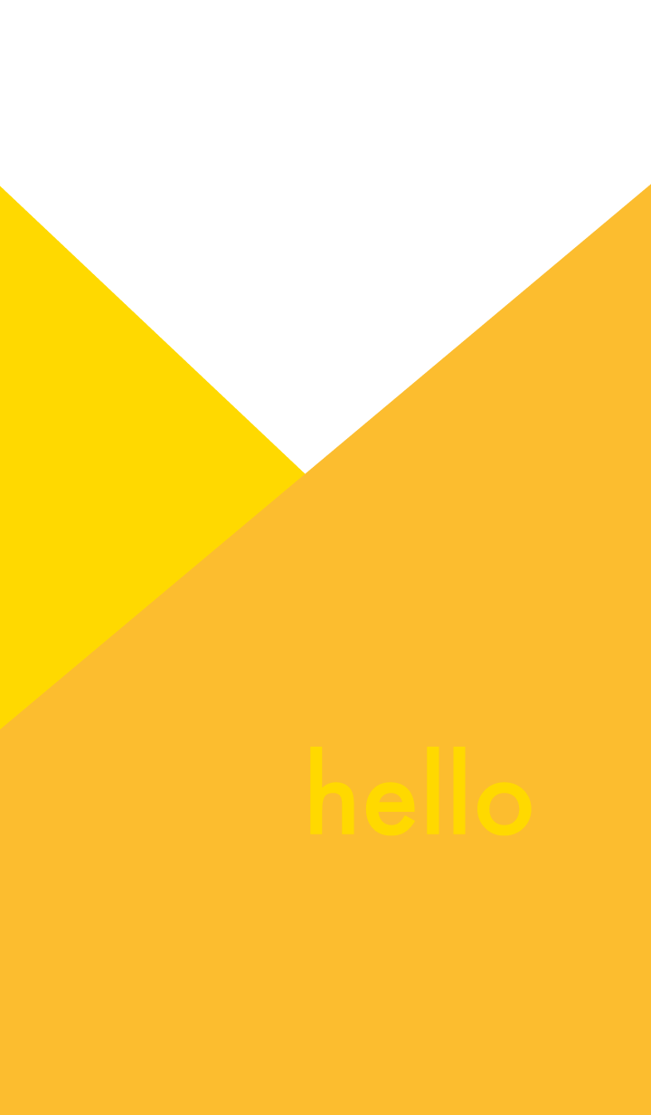 hello - yellow