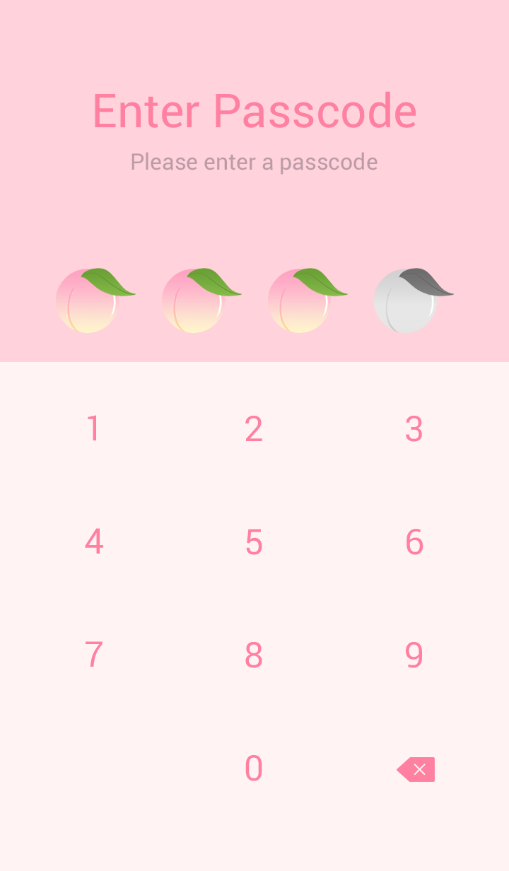 Peach soda -Pink-