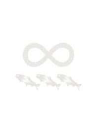 Simple pearl fish infinity