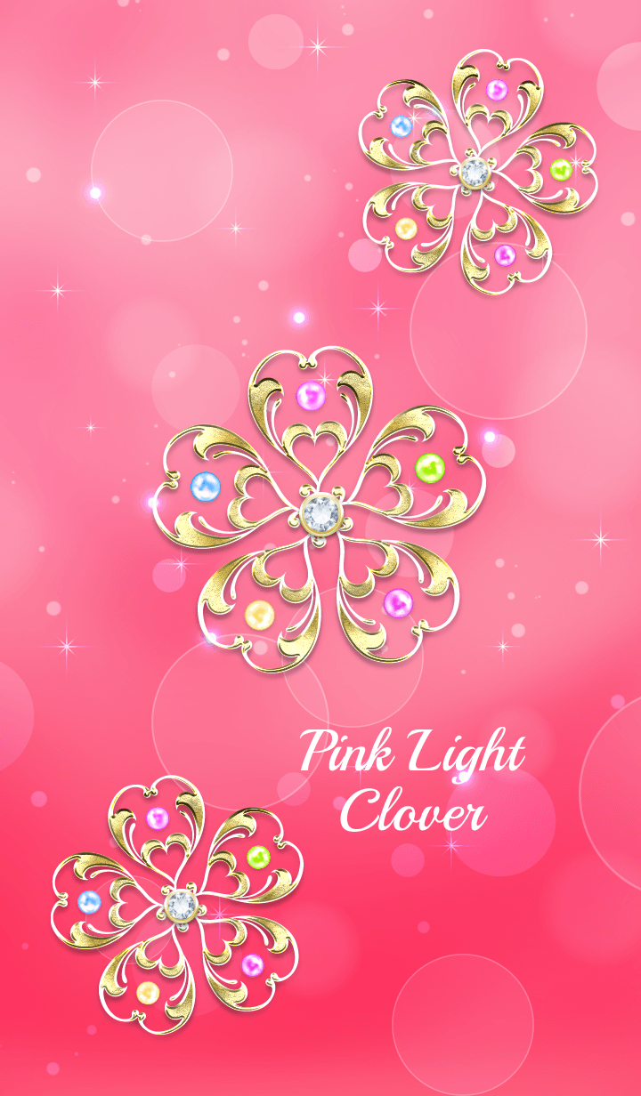 Fortune rise !? Pink Light Clover !!.