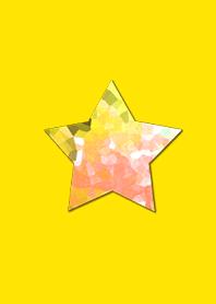 Crystal Yellow Star