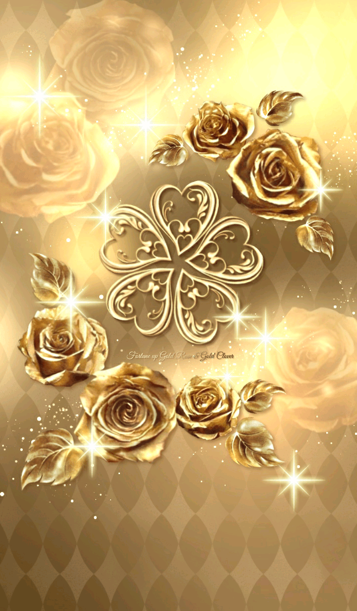 Fortune up Gold Rose & Gold Clover