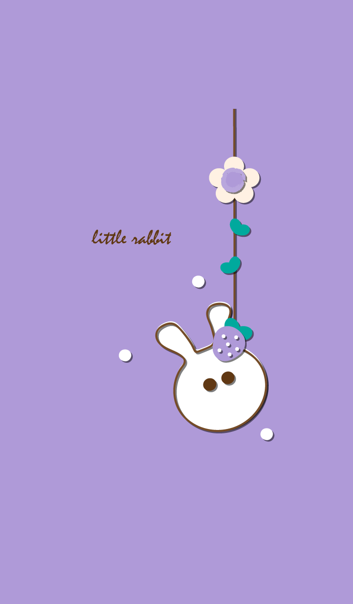 little rabbit with little strawberry 16