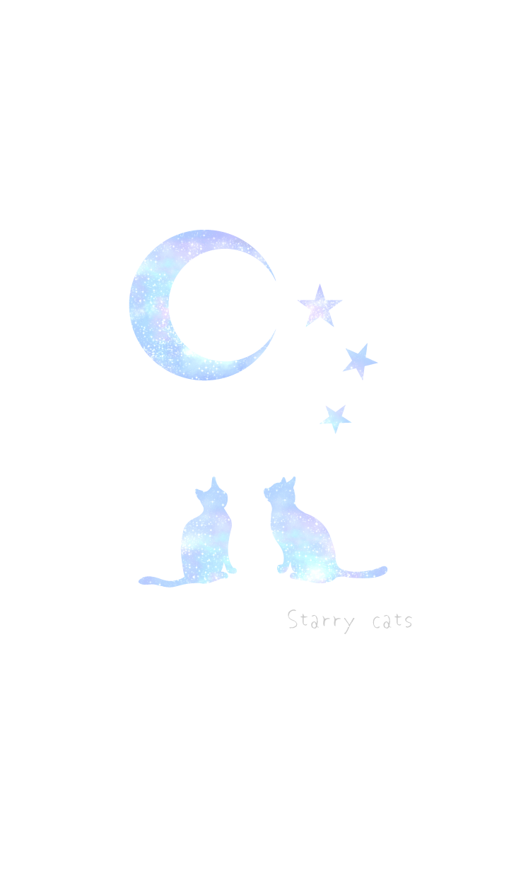 Starry cats#cool WV
