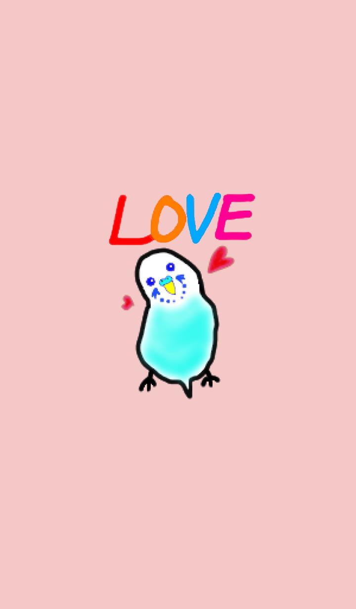 Hareruki of lovely parakeets theme