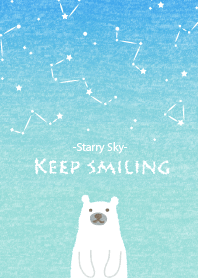KEEP SMILING -STARRY SKY- for World