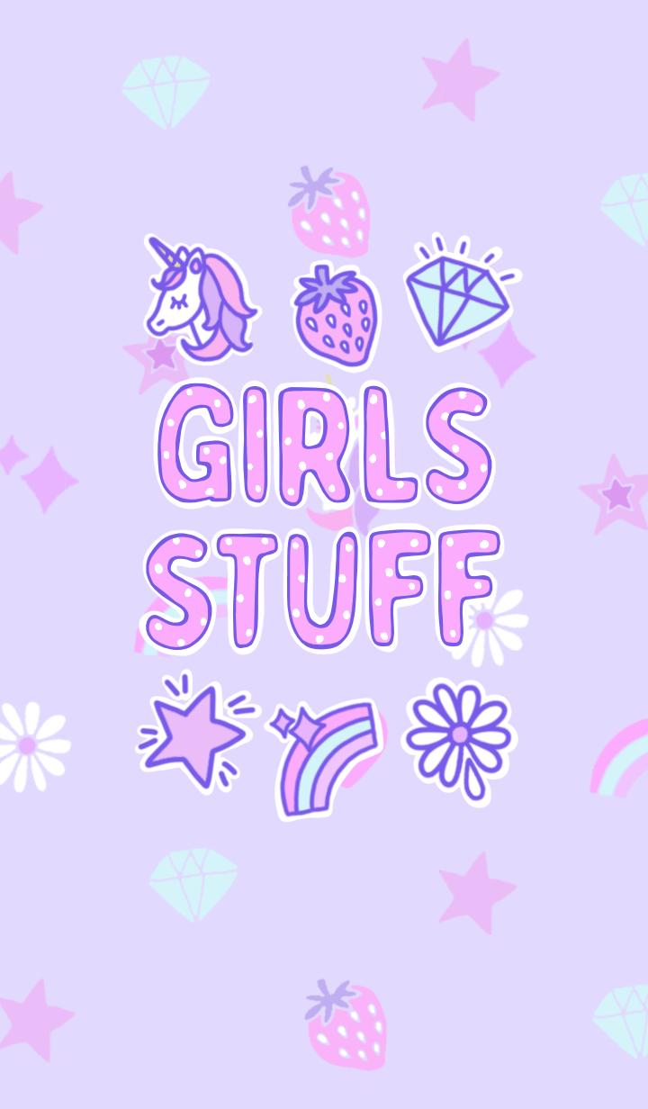 - GIRLS STUFF -