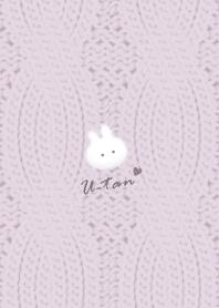 Rabbit and Knit2 Purplegray38_2