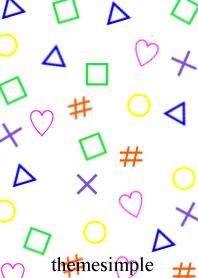 Various symbols